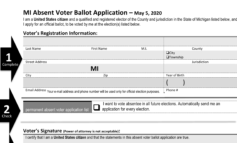 Secretary of State to mail absent voter ballot applications to all May 5 voters