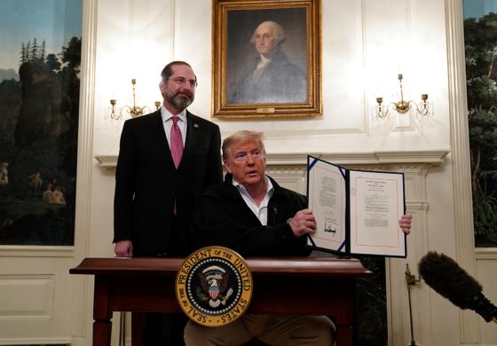 Coronavirus poses new challenge to Trump's re-election bid