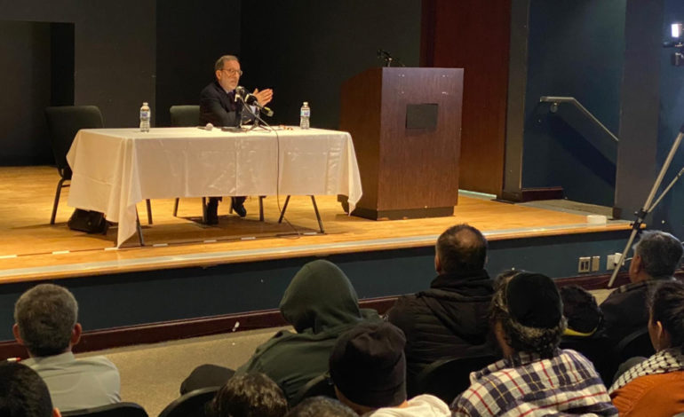 Professor Rashid Khalidi illuminates Palestinian history and Zionist colonialism for Dearborn audience