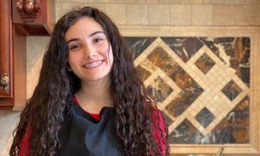 Young Arab American Aya Alcodray brings much needed food relief to families