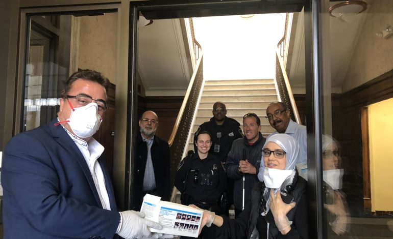 Muslim organization provides much needed assistance to frontline healthcare and emergency workers