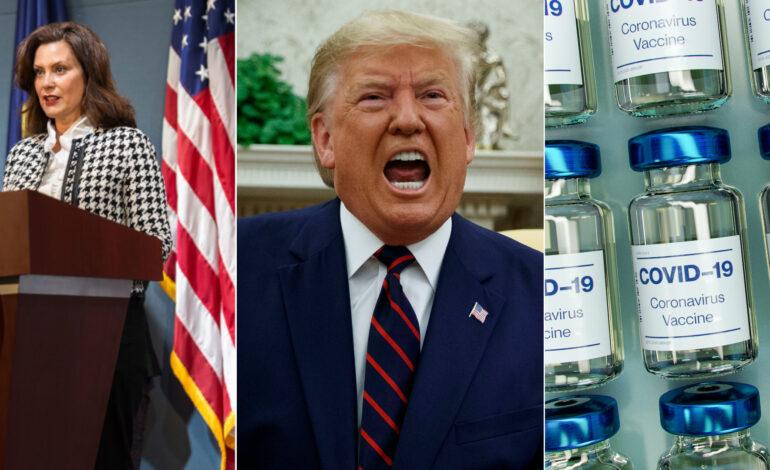 Poll reveals Whitmer, Trump, Biden favorability ratings; trust level in vaccine