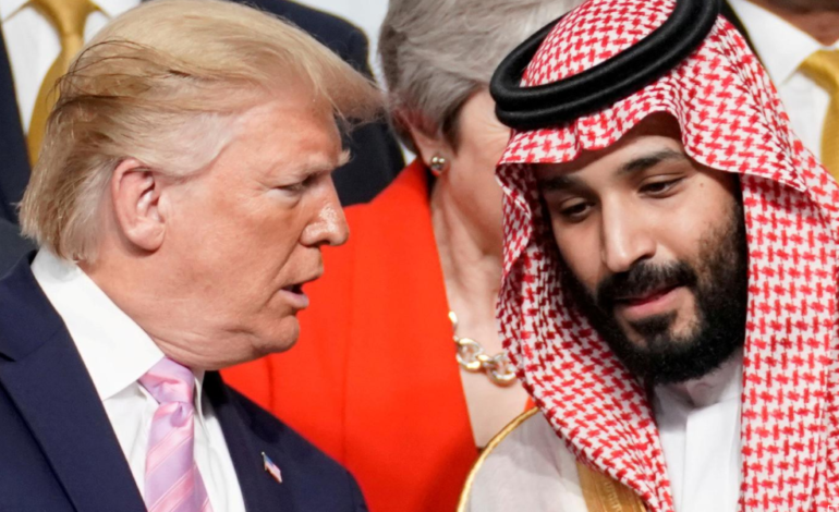 Report: Trump told Saudis to cut oil supply or risk losing U.S. military support