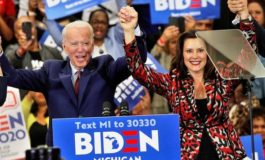 Democratic presidential front-runner Biden confirms he's considering Whitmer for VP