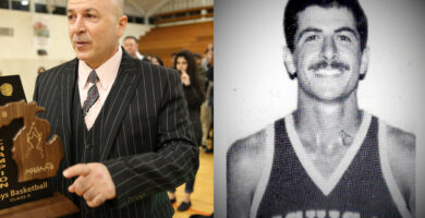 After an illustrious career, Ibrahim Baydoun inducted into U of M-Dearborn Athletic Hall of Fame