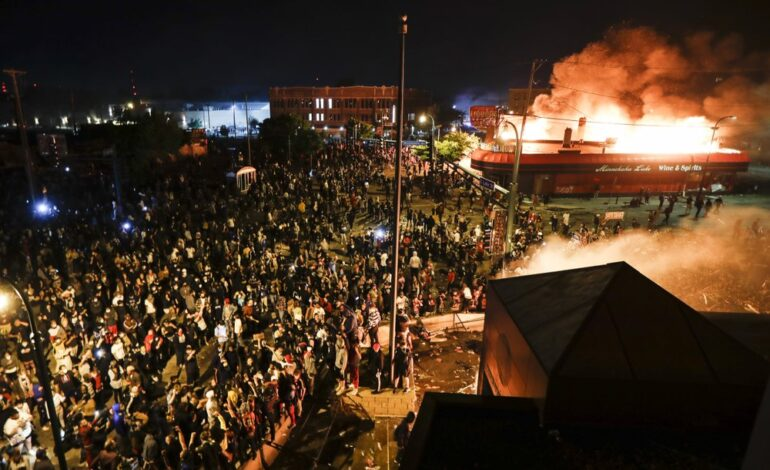Minneapolis ablaze: Arab American owner of store where George Floyd was killed says he condemns police's actions