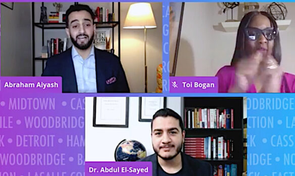 Abraham Aiyash sees prominent support from El-Sayed, Hammoud and others at virtualcampaign kickoff