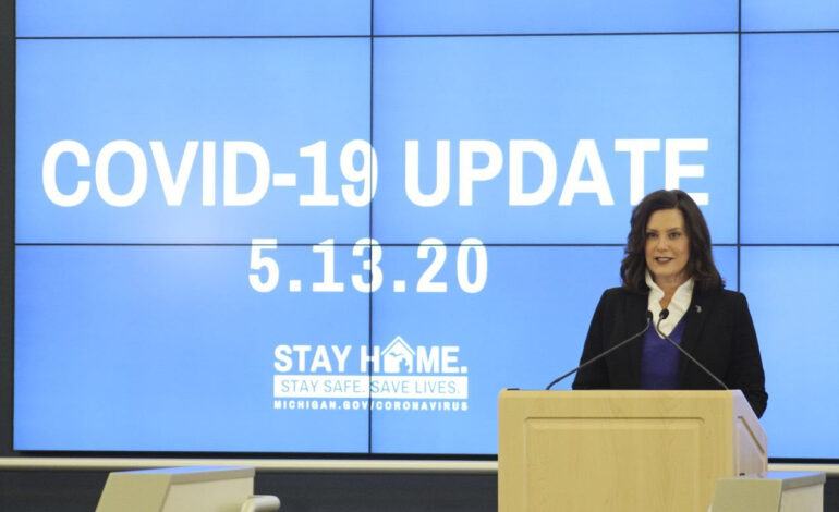 Governor Whitmer extends executive order temporarily suspending evictions till June 11