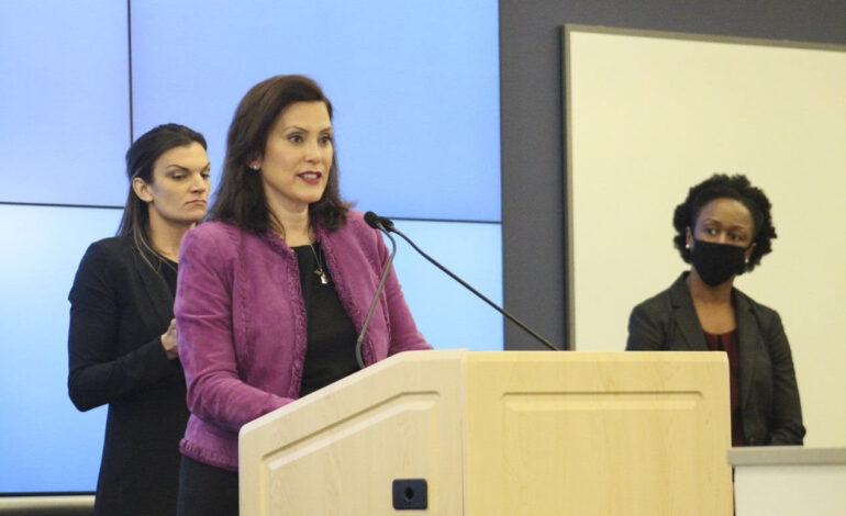 Whitmer announces process to chart path for the safe reopening of schools