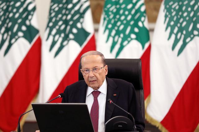 Lebanon's president sees 'civil war' climate as critics boycott meeting