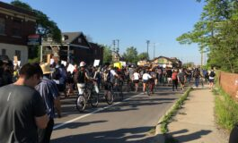 Detroit protest organizer held on felony charges of inciting riot