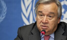 U.N. chief, European and U.S. lawmakers call on Israel to ditch West Bank annexation plan