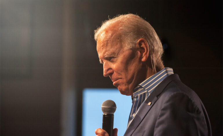 Biden vies for crucial Muslim vote, promises an end to Muslim ban