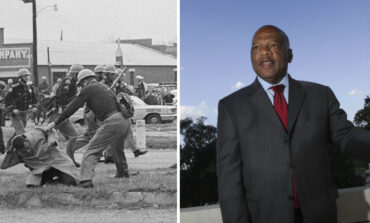 John Lewis, U.S. congressman and sharecropper's son, was civil rights hero