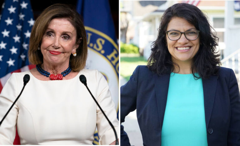 House Speaker Nancy Pelosi endorses Rashida Tlaib for Congress