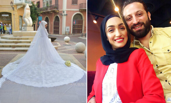 After going viral, the bride from Beirut tells her story