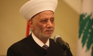Lebanon's grand mufti joins call for international investigation into blast, early parliamentary elections