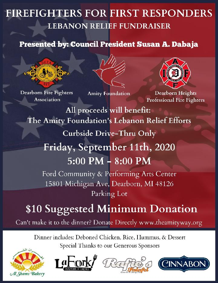 Fundraiser to be held in Dearborn to benefit Lebanon relief efforts