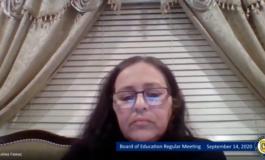 Crestwood School Board censured one of its trustees, Salwa Fawaz