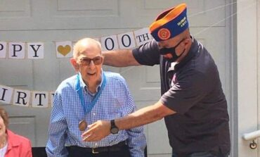 Dearborn community celebrates WWII veteran's 100th birthday