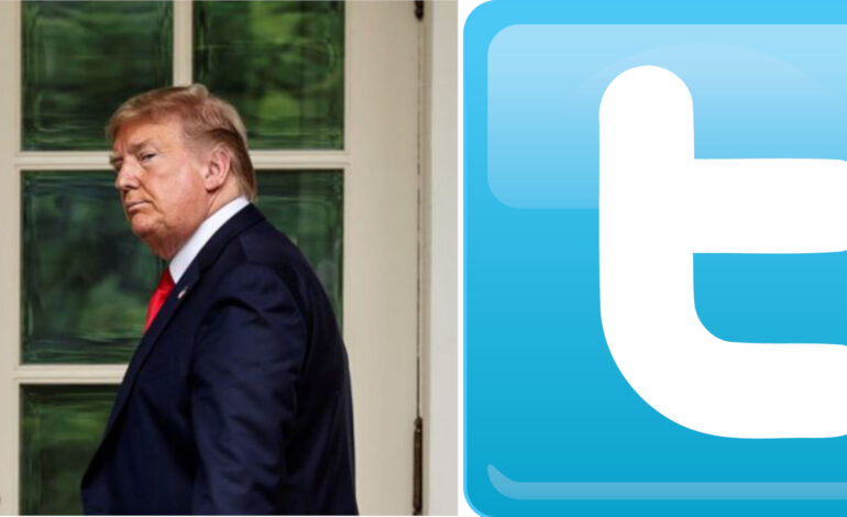 Twitter places warning label on Trump tweet about voting by mail