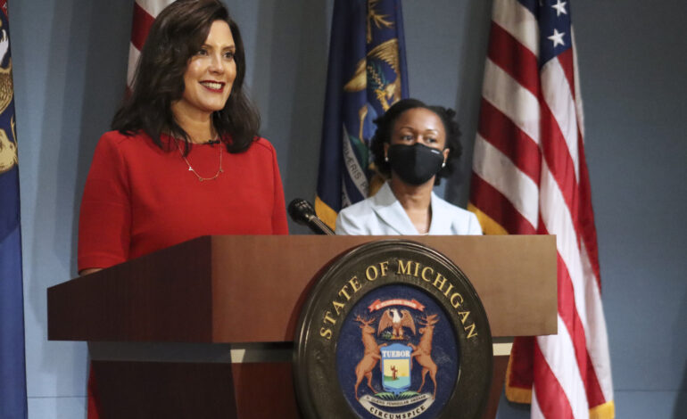 Whitmer extends state of emergency, issues several executive orders