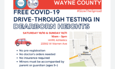 Free COVID-19 testing in Dearborn Heights on Oct 10-11