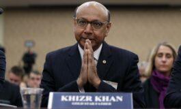 Khizr Khan, father of a slain U.S. soldier, backs Democratic party again ahead of November election