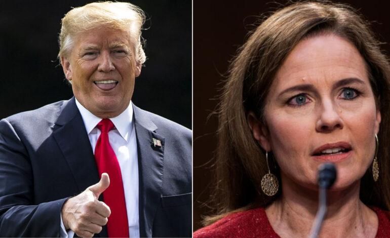 Trump rejoices as Senate panel approves Barrett while Democrats boycott