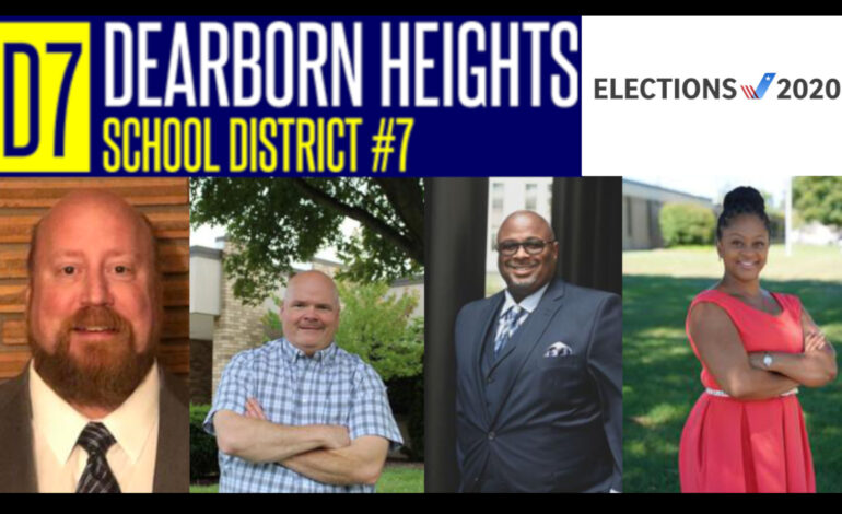 D7 School Board candidates discuss their plans if elected