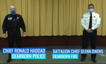 Dearborn public safety chiefs encourage a safe holiday