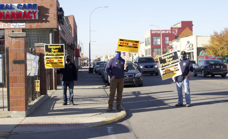 Hamtramck voters reject proposals to eliminate fire and police departments from charter