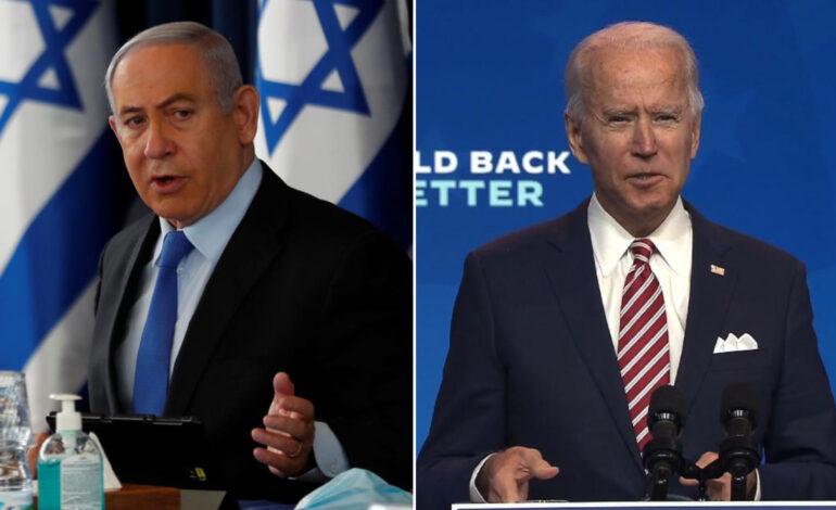 "Netanyahu has ""warm"" convo with Biden, calls him ""president-elect"""