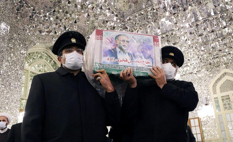 Iran likely to hold off on retaliation over scientist's killing, U.S. envoy says