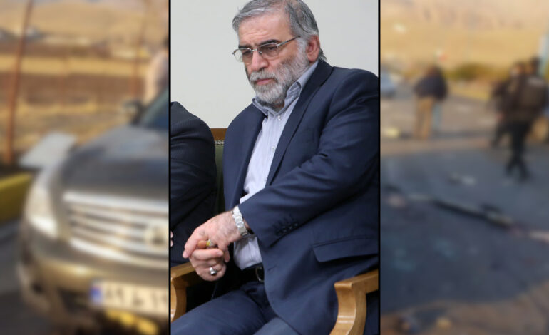 "Iran says ""smart satellite-controlled machine gun"" killed top nuclear scientist"