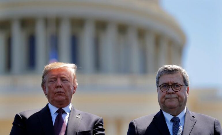 Trump attacks his ally AG Barr over unwillingness to declare voter fraud
