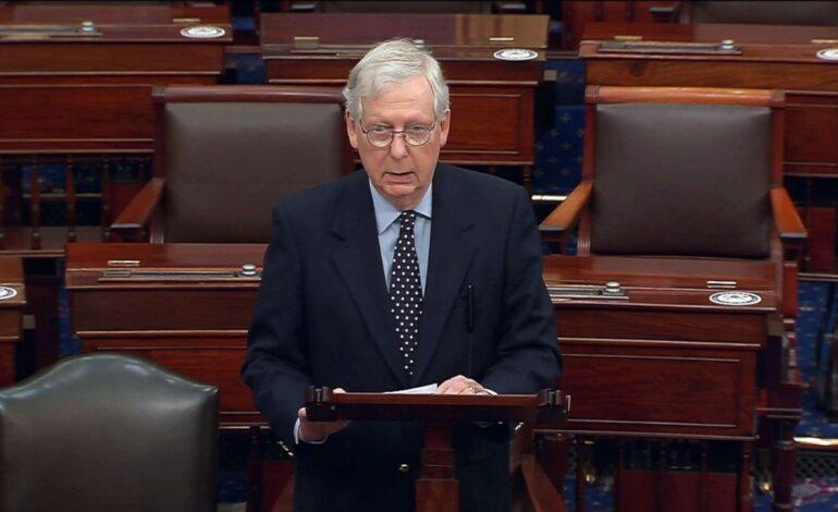 Defying Trump, McConnell delays vote on $2,000 checks, urges Senate to override defense veto