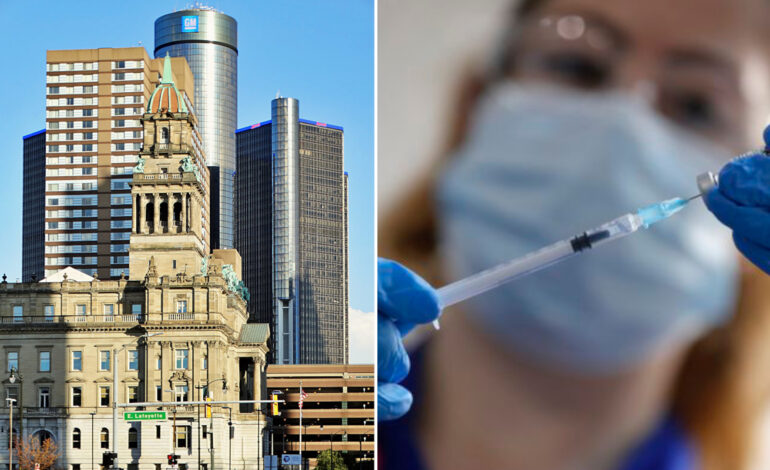 Wayne County has received fewer doses than less-populated counties