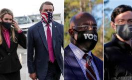 Tight elections unfolding in Georgia with Biden's agenda, Senate control at stake