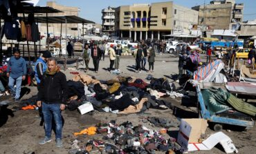 First big suicide attack in Baghdad in three years kills at least 32