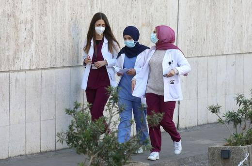 Lebanon's COVID-19 spike overwhelms battered hospitals and exhausted doctors