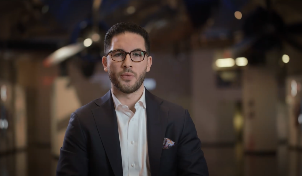State Rep. Abdullah Hammoud announces his bid for Dearborn mayor.