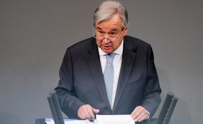 U.N. chief to foreign forces: 'Leave the Libyans alone'