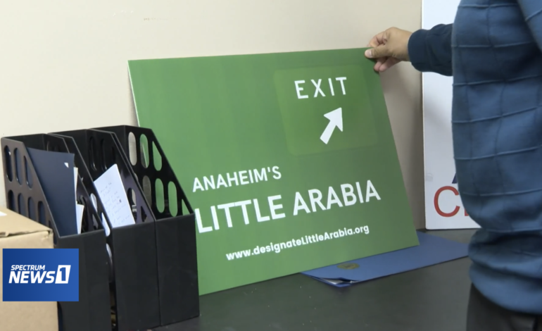 Arab Americans continue their efforts for Little Arabia designation in Anaheim