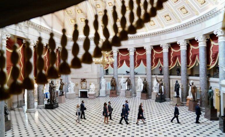 Democrats focus Trump trial on mob's threat to his fellow Republicans
