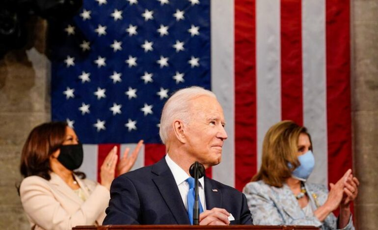 Biden marks first 100 days, gives first speech to joint session of Congress