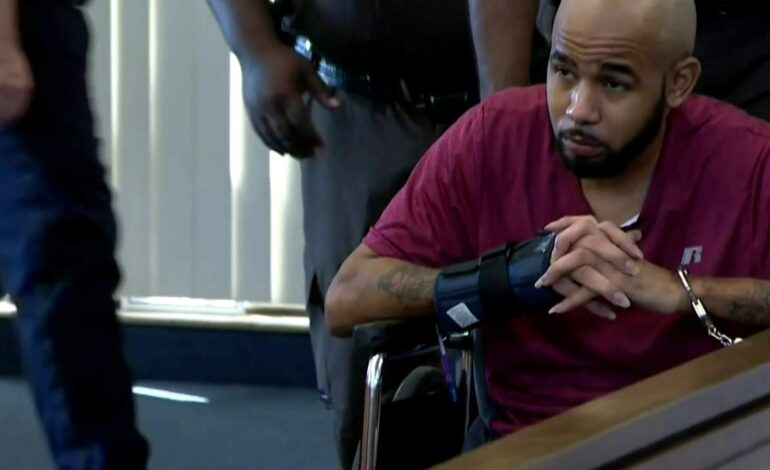 Garden City man charged with murder of Detroit police officer granted bond