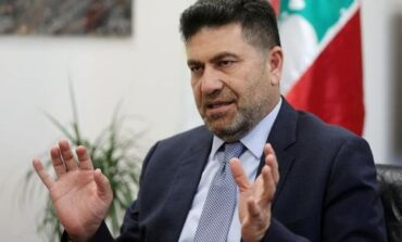 Lebanon energy minister blames fuel shortage on Syria smuggling