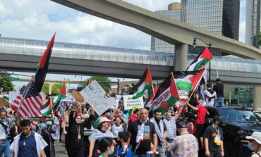 Two local protests held in ongoing support of Palestinian liberation, drawing crowds in Wayne and Macomb Counties