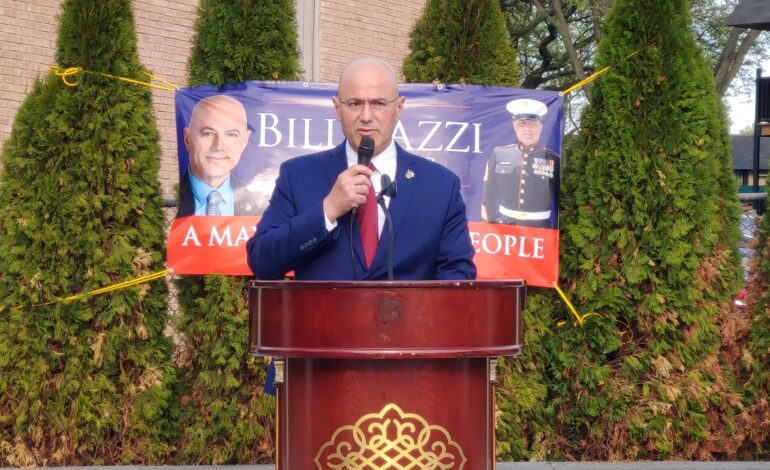 Bill Bazzi kicks off his campaign for Dearborn Heights mayor